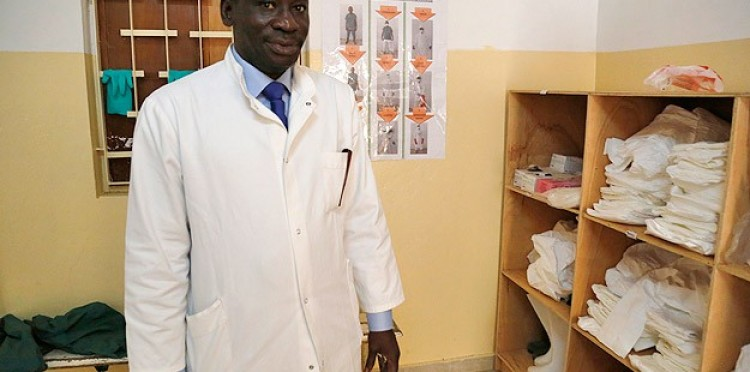 "Dr. Cheikh Tacho: ""Equipments used to fight with Ebola is from TIKA and JICA"""