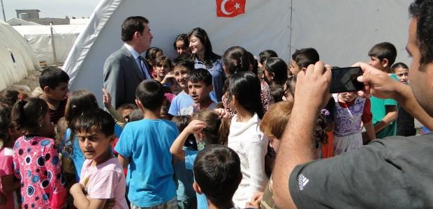 TIKA Helped Turkmens in Yahyava Refugee Camp in Kerkuk, Iraq  - 4