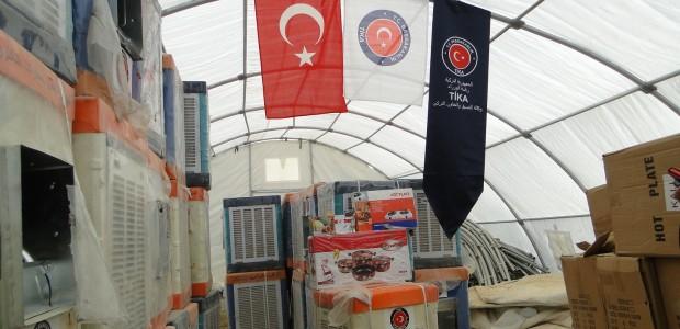 TIKA Helped Turkmens in Yahyava Refugee Camp in Kerkuk, Iraq  - 2