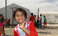 TIKA Helped Turkmens in Yahyava Refugee Camp in Kerkuk, Iraq