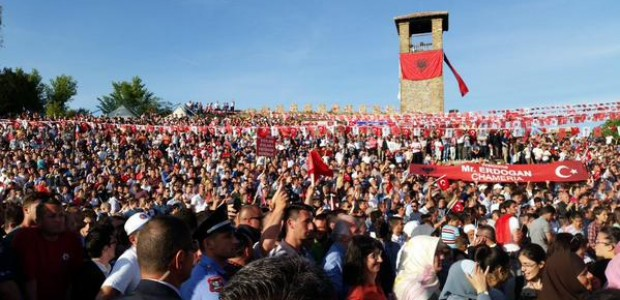 President Recep Tayyip Erdoğan honored the opening of the Mosque at Preze Castle in Albania - 4