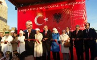 President Recep Tayyip Erdoğan honored the opening of the Mosque at Preze Castle in Albania