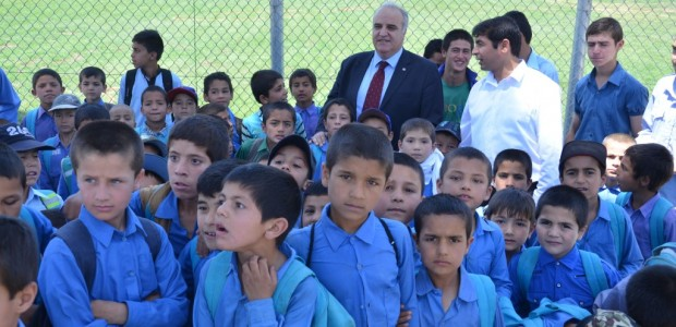 TIKA built a school with 42 classroom capacity in Mazar i Sharif - 1