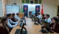 Türkmenistan Uluslararası İlişkiler Enstitüsü'ne Kurulan Kütüphane Hizmete Açıldı - 4