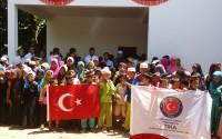 TİKA Kamboçyalı Çocuklar İçin Okul İnşa Etti