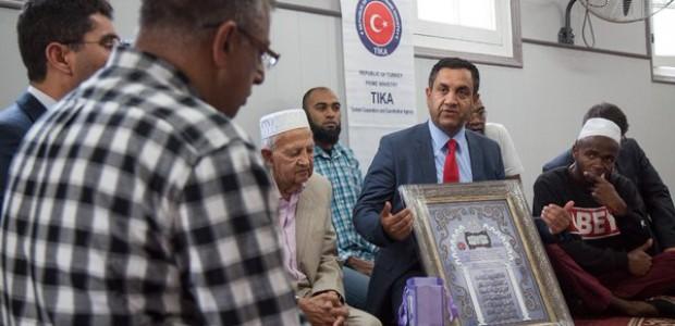 وكالة تيكا تتولى إعادة ترميم مسجد ونادي رياضة الكريكت في جنوب أفريقيا - 2