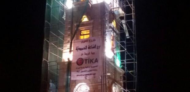 """""""برج الساعة الحميديّة"""" يستعيد رونقه القديم في طرابلس شمالي لبنان - 2"""