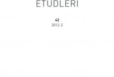 Avrasya Etüdleri 42 / 2012