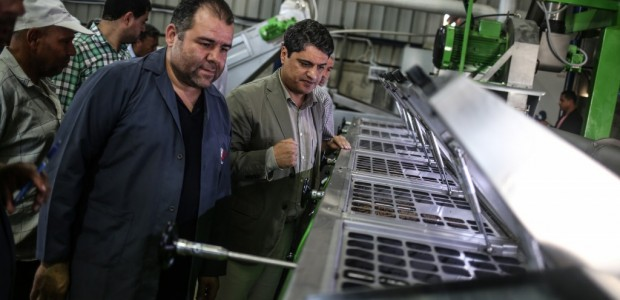 An Olive Oil Plant Built by TİKA Has Opened in the Gaza Strip - 7