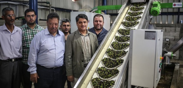 An Olive Oil Plant Built by TİKA Has Opened in the Gaza Strip - 4