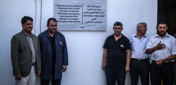 An Olive Oil Plant Built by TİKA Has Opened in the Gaza Strip - 3