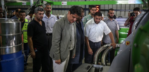 An Olive Oil Plant Built by TİKA Has Opened in the Gaza Strip - 1