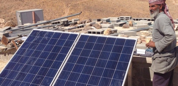 TİKA Provides Palestinians with Solar Energy - 3