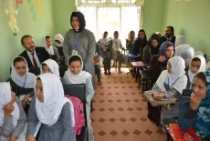 Vocational Courses Started in Andkhoy Afghanistan