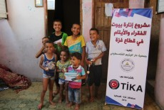 TİKA Provides Palestinians with LED Systems