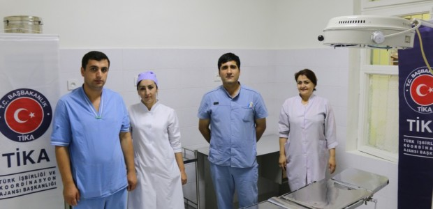 Tajikistan Vahdat Central Hospital Emergency Clinic Renovated - 3