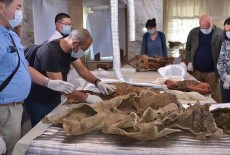 Mummy of Female with a Horse to Shed Light on Turkish History