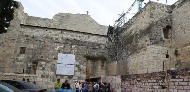 TIKA contributes to the Church of the Nativity's restoration - 1