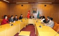 نقل التجربة  التركية في مجال المتاحف في تركيا الى موظفي وزارة الثقافة الكازخستانية