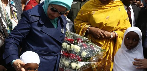 عقيلة الرئيس التركي السيدة امينة اردوعان تفتتح دار الايتام المنفذة من قبل وكالة تيكا في نيجريا - 3