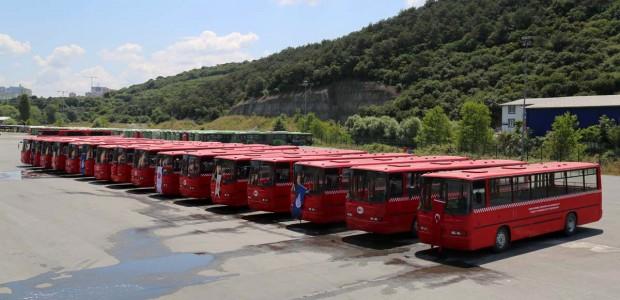 تيكا بالتعاون مع هيئة مواصلات اسطنبول تهدي حافلات النقل الى افريقا - 1