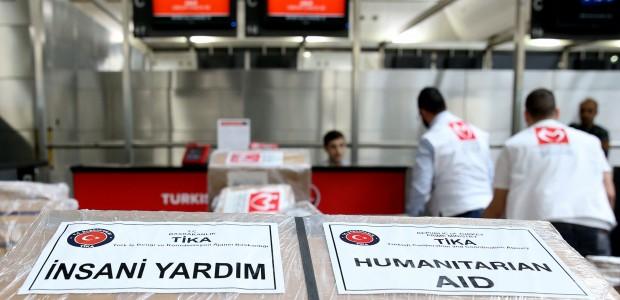 وفد طبي من منظمة اطباء الارض التركية بالتعاون مع تيكا يصل الى غزة - 2