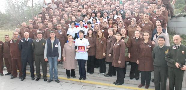 ورشة تدريبية في معمل الخياطة العسكرية لموظفي القوة العسكرية القيرغيزية - 5