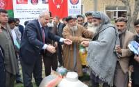 """""""تيكا"""" التركية توزع مساعدات إغاثية على العوائل المتضررة في افغانستان"""