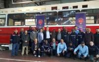 ورشة تدريبية للوفد الفني الليبيري في مجال إدارة العمليات والصيانة لحافلات النقل