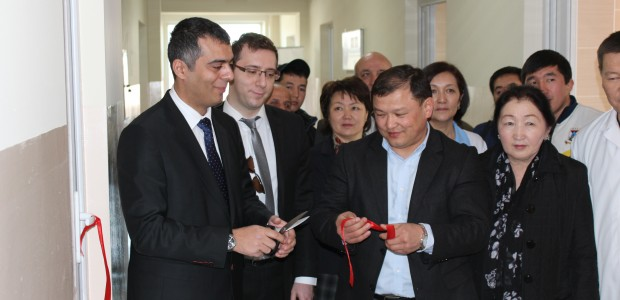 ترميم مستشفى قابان صوبانوف للامراض النسائية والاطفال في قيرغيزية  - 1