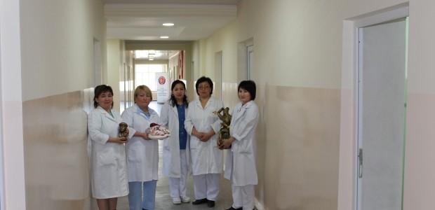 ترميم مستشفى قابان صوبانوف للامراض النسائية والاطفال في قيرغيزية  - 2