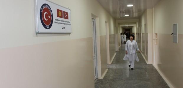 ترميم مستشفى قابان صوبانوف للامراض النسائية والاطفال في قيرغيزية  - 3