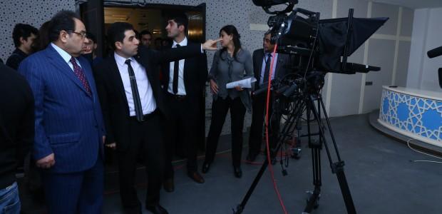 تيكا تأسس ستديوهات تلفيزيونية في جامعة باكو الحكومية في اذربيجان - 1
