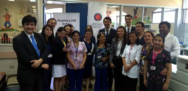 دعم تيكا بالمعدات الطبية لقسم الاطفال في مستشفى البينو في شيلي - 1
