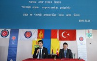وكالة تيكا تجهز شعبة الفنون والتكنولوجية بالمعدات في مدرسة قضاء ارفايهير المتوسطة في مغولستان