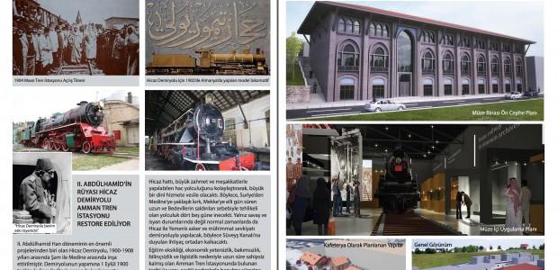 TİKA Ürdün'de Hicaz Demiryolu Müzesi Kuracak - 5