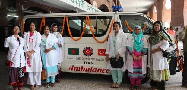 تيكا تواصل دعمها للقطاع الصحي في بنغلاديش  - 2
