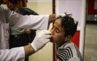 وفد طبي من منظمة اطباء الارض التركية بالتعاون مع تيكا يصل الى غزة