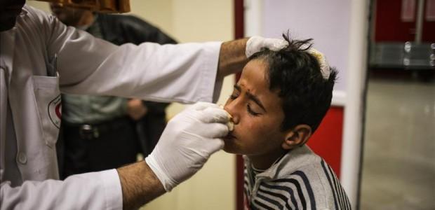 وفد طبي من منظمة اطباء الارض التركية بالتعاون مع تيكا يصل الى غزة - 1