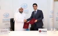 توقيع مذكرة حسن النية بين وكالة تيكا التركية وقطر الخيرية