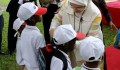 امينة اردغان تحضر حفل تسليم اجهزة السمع من قبل وكالة تيكا لمؤسسة لوردينا  - 6