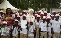 امينة اردغان تحضر حفل تسليم اجهزة السمع من قبل وكالة تيكا لمؤسسة لوردينا