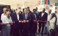 افتتاح مستشفى يد العون التركية للنساء والاطفال في العاصمة الصومالية
