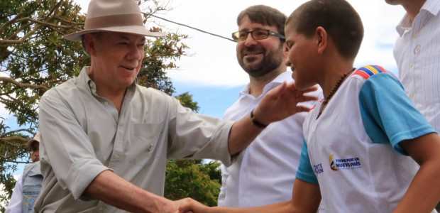 Colombian President Inaugurates Rural School Built by TİKA - 4
