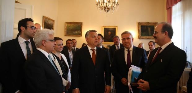 Macaristan Hükümeti Liyakat Nişanı TİKA Başkanı Dr. Serdar Çam'a Verildi  - 2