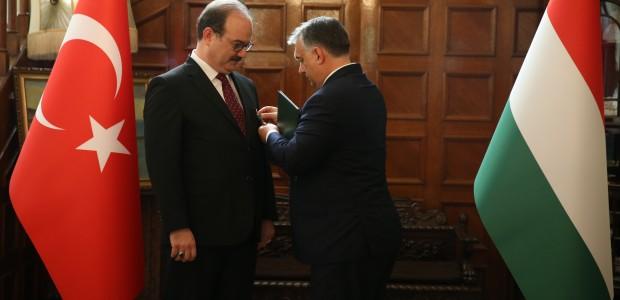 Macaristan Hükümeti Liyakat Nişanı TİKA Başkanı Dr. Serdar Çam'a Verildi  - 15