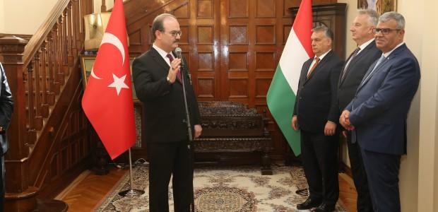 Macaristan Hükümeti Liyakat Nişanı TİKA Başkanı Dr. Serdar Çam'a Verildi  - 11