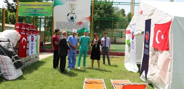 TİKA'dan Tacikistan'a Sağlık Ekipmanı Desteği - 3