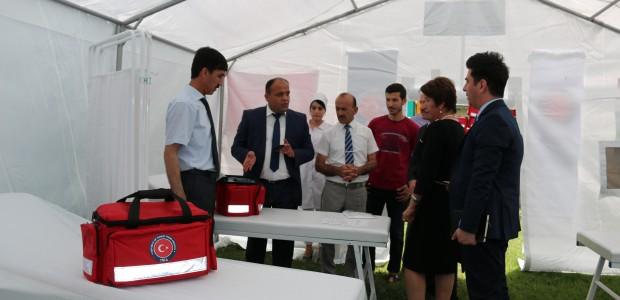 TİKA'dan Tacikistan'a Sağlık Ekipmanı Desteği - 1