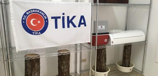 """""""تيكا"""" التركية تفتتح مختبرا بيولوجيا في هندوراس - 1"""